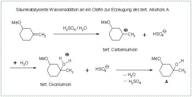 Wasseraddition cyclC=CH2 +H3O(+) gt. cyclC(OH)-CH3 + H(+).JPG