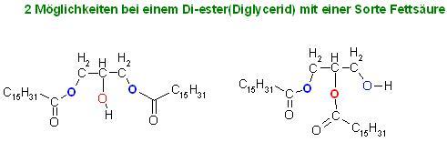 2 Möglichkeiten bei einem Di-ester(Diglycerid) mit einer Sorte Fettsäure.JPG