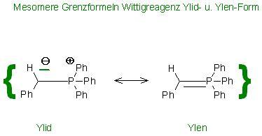 Wittigreagenz Mesomere Grenzformeln Ylid- u. Ylen-Form.JPG